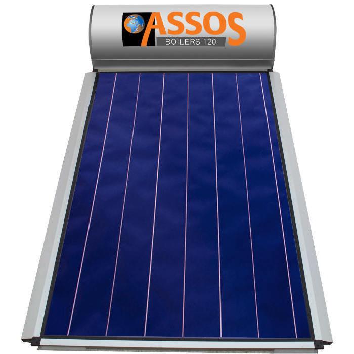 Επιλεκτικού ΣυλλεκτηAssosSP 120 Glass Επιλεκτικός Τιτανίου Διπλής Ενέργειας