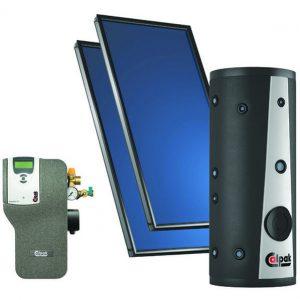 Συστήμα Βεβιασμένης ΚυκλοφορίαςCalpakEP CL2-200 / 2xM4-200 Κεραμοσκεπής