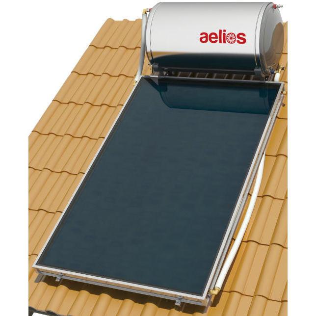Επιλεκτικού ΣυλλεκτηNobelAelios 160lt/2.6m² Glass ALS Επιλεκτικός Διπλής Ενέργειας Κεραμοσκεπής
