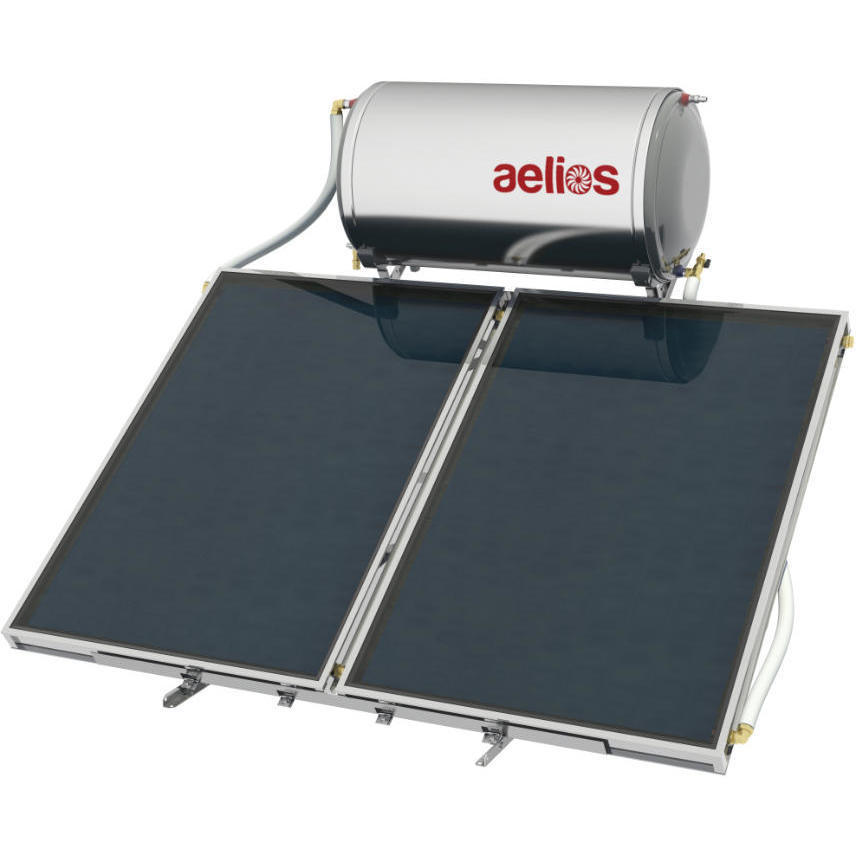Επιλεκτικού ΣυλλεκτηNobelAelios 160lt/3.0m² Glass ALS Επιλεκτικός Διπλής Ενέργειας Ταράτσας