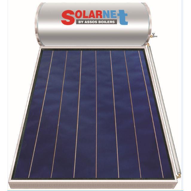 Επιλεκτικού ΣυλλεκτηSolarnetSOL 160 Glass Επιλεκτικός Τιτανίου Διπλής Ενέργειας
